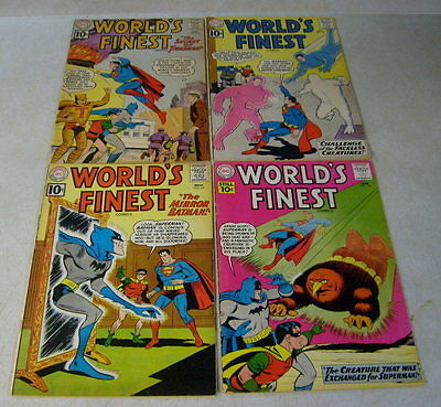 Worlds Finest #118,119,120,121 Batman Superman 1961, Tigerman