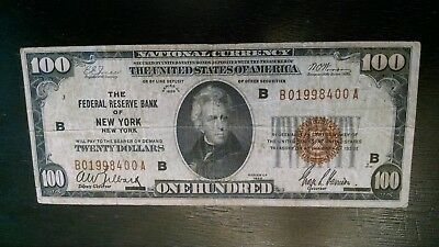 1929 $20 Frbn Raised Note To $100,