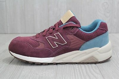 separation shoes bc503 8bd9d 30 New New Balance 580 Mens MRT580MS Red Wine Blue Running Shoes Size 9