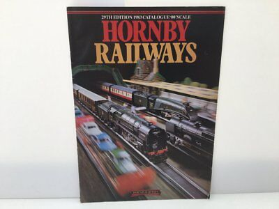 Hornby 1983 Catalogue 29th Edition