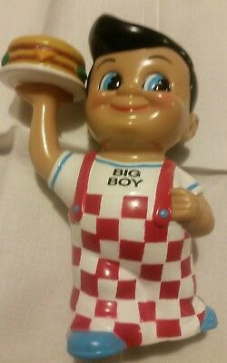 Big Boy Coin Bank  Frisch's Bobs Restaurants Great Cond.Rare blue shoe's