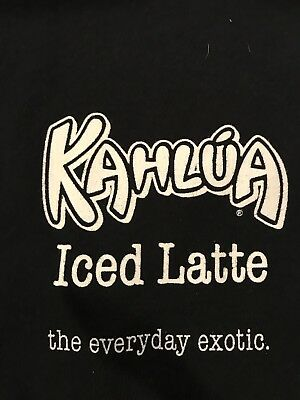 Kahlua Iced Latte Tshirt -Medium