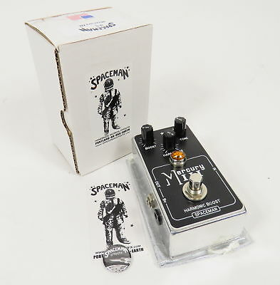 Spaceman Mercury Iii 3 Harmonic Booster Guitar Effects Pedal Limited 9/80 + Box