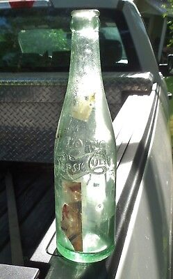 Rocky Mount N.C. Pepsi Bottle Ayers No. Rocky6 Partial Label