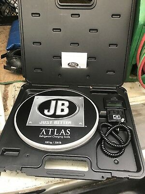 Just Better JB ATLAS Wireless Charging Scale  DS-20000S Refrigerant scale
