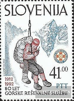 slovenia 24 (complete issue) unmounted mint / never hinged 1992 80 years hzs