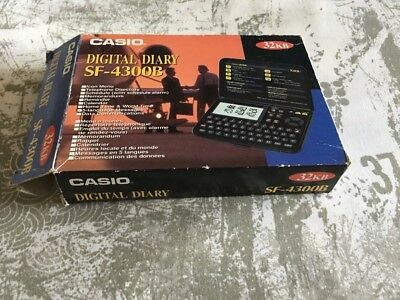 Casio Digital Diary SF-4300B 32kb