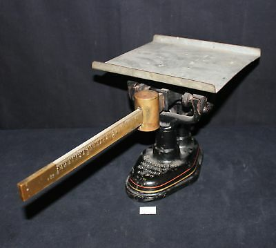 ThriftCHI ~ Antique Postal Scale by Fairbanks Property of USPO 4 Pounds Max