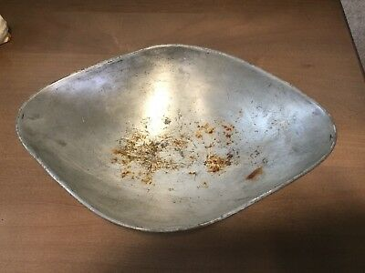 Antique Nickel Steel Candy Scale Pan