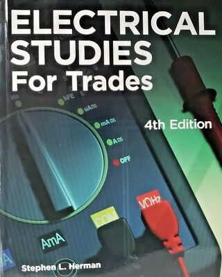 Electrical Studies for Trades by Stephen Herman (2009, Paperback) [NEW]