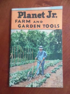 1939 Planet Jr Farm Garden Tools Implement Catalog S.L. Allen & Co Philadelphia