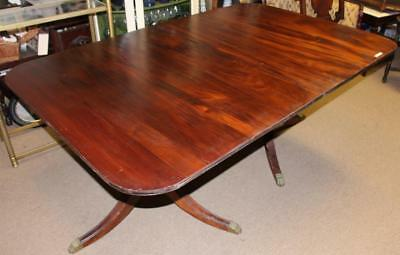 """Vintage Statton Trutype Solid Mahogany Kitchen Dining Table 68"""" x 44"""" x 30"""""""