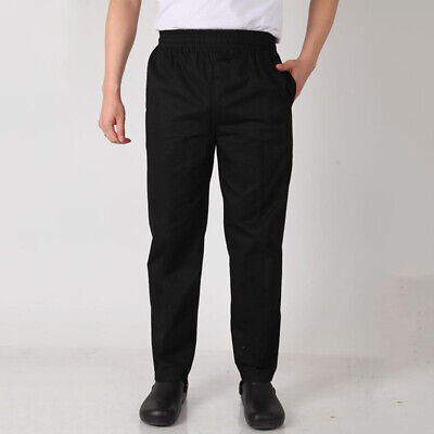 Chef Works Classic Fit Basic Baggy Chef Pants Kitchen Uniform Cook Trousers 2018