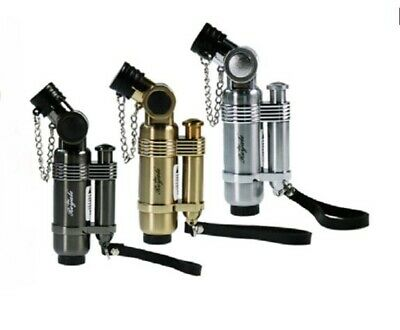 Royale Premium Jet Lighter Blow Torch Cigarette Refillable Gold Silver Black