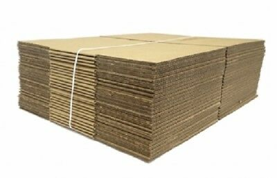 """Lot of 10 CARDBOARD BOXES 12""""x10""""x16"""" CORRUGATED SHIPPING MOVING PACKING SUPPLY"""