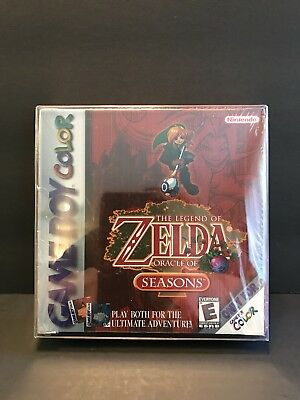 The Legend Of Zelda Oracle Of Seasons For Gameboy Color Brand New Sealed