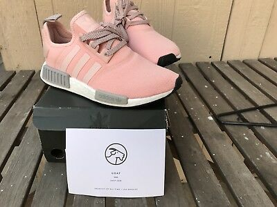 84735b199 ADIDAS NMD R1 BY3059 Womens RARE Vapor Pink Grey Onyx Boost limited ...