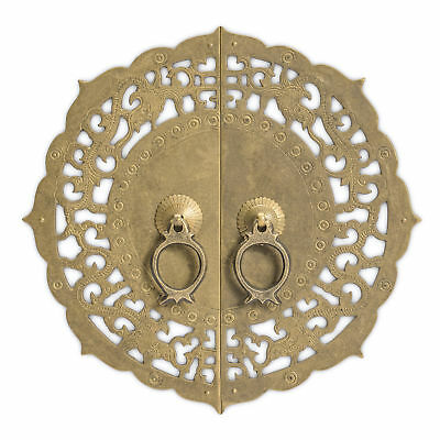 CBH Chinese Brass Hardware Door Cabinet Plate 9.8""