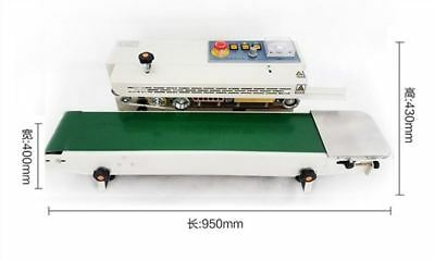 Automatic Continuous Plastic Bag Band Sealing Machine Sealer FR770