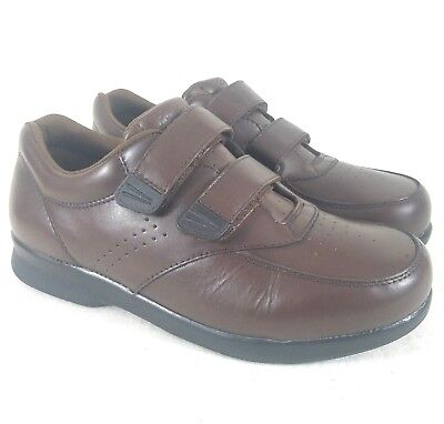 8144cbf479ddd Propet Vista Walker Brown Leather Walking Shoes Men s Size 8.5 3E M3915