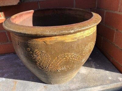 Antique Chinese Flower Pot