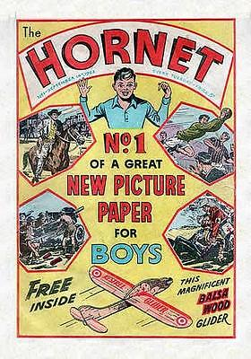 The Hornet #1-648 On Dvd. Full Run. 1963-1976. Boys British Adventure Comic. Uk
