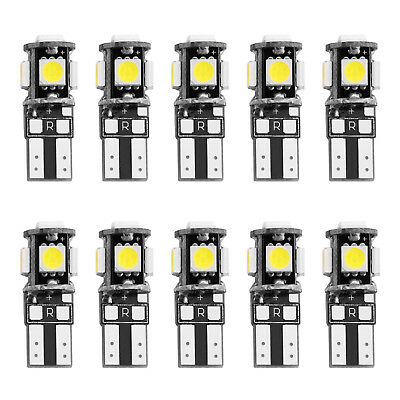 10 x 24V 5 SMD LED 5050 T10 194 147 Canbus Innenraumbeleuchtung Deutsche Post
