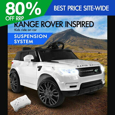 RIGO Kids Ride On Car Range Rover Remote Rechargeable Battery Electric Toys