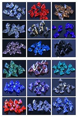 Swaro-element 20pcs 6mm 3D-triangle Loose Crystal Glass beads DIY jewelry making