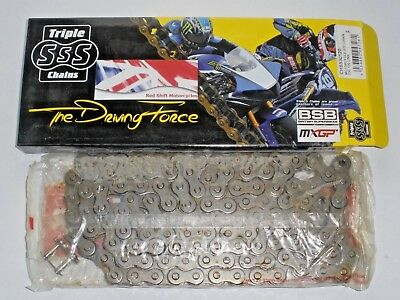 DRIVE CHAIN. 5/8 x 3/8 530 50 x 120 Links Triple SSS  Enfield BSA Triumph Norton