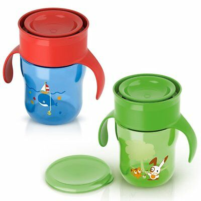 Philips Avent trink-lern-becher 260ml Juego de 2 BOY & Niña Uni All Around C