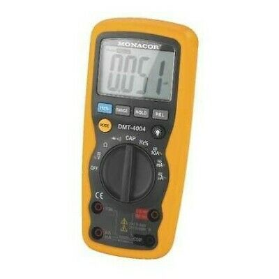 Monacor Digital multimeter DMR Electronics EU