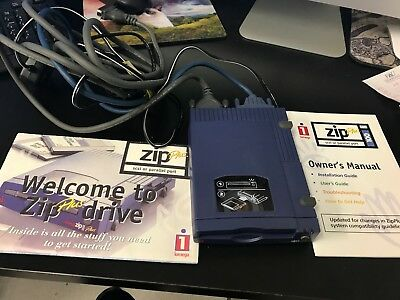 iomega zip plus 100 with cables owner s manual and welcome package rh picclick com Iomega 100MB Zip Drive Driver iomega zip drive 100 manual