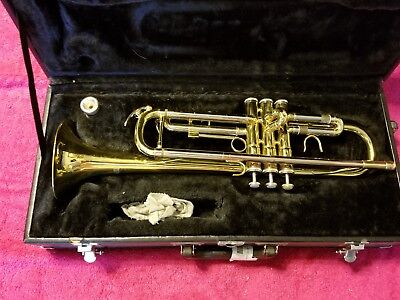 Image trumpet with hard.case.