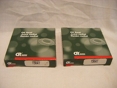 New Old Stock Lot Of 2 CR 15041 Oil Seals G1