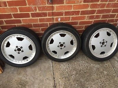 AMG STYLE Replica Alloy Rims 17inch Alloys PCD100 suits Audi Saab only 3 Rims