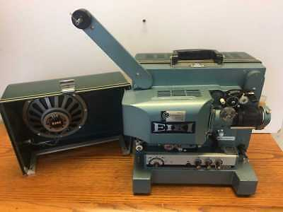 Eiki Ex-2000A 16Mm Movie Projector In Excellent Cond W/ Extras & Anamorphic Lens