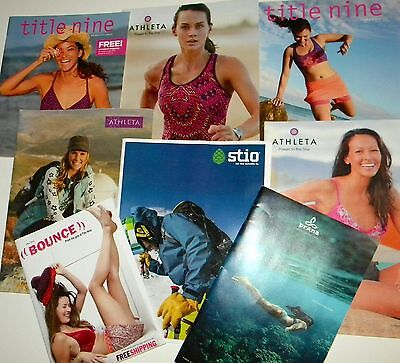Lot 8 Athletic Catalogs Prana Athleta Title Nine Stio Bounce 2009-2014 Reseller