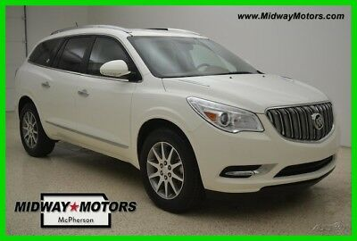Buick Enclave Leather 2015 Leather Used Certified 3.6L V6 24V Automatic FWD SUV OnStar
