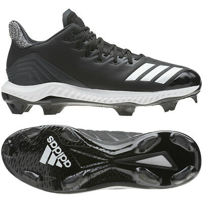 Adidas Men's Icon Bounce TPU Baseball Cleats Shoes Plastic Spikes