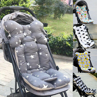 Baby Stroller Buggy Pram Pushchair Pad Liner Cover Mat Car Seat Chair Cushion UK
