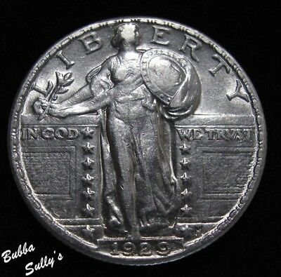 1929 Standing Liberty Quarter <> ABOUT UNCIRCULATED
