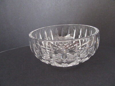 Waterford Crystal Lismore Bowl Signed (Mint)