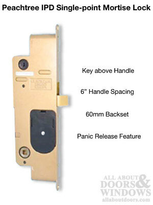 Peachtree IPD LOCK for Hinged Doors - Minor Scratches / Blemished  sc 1 st  PicClick & FRONT DOOR ENTRY Set Lock Satin Nickel Lever Vail - $69.95 | PicClick