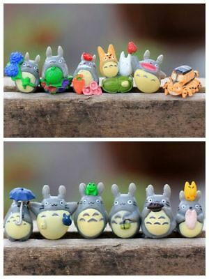 12pcs one set studio Ghibli Neighbor Totoro Spirited Away Mini figures Toy Gifts