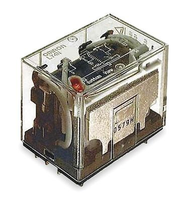 Omron Plug In Relay, 14 Pins, Square Base Type, 10A @ 120VAC/24VDC Contact