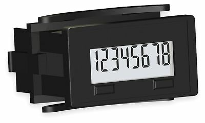 Redington Electronic Counter, Number of Digits: 8, LCD Display, Max. Counts per
