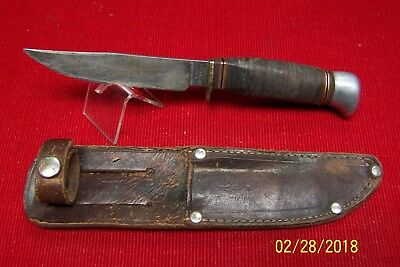 Vintage German Sears Roebuck & Co. Fixed Blade Knife