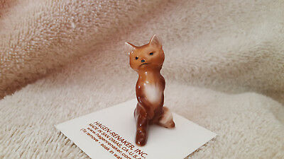 Hagen Renaker Fox Papa Figurine Miniature Gift Collect New Free Shipping 00179