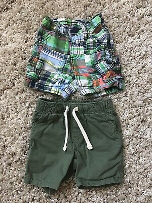 Old Navy Short Lot. Baby Boy Size 3-6 Months. Euc